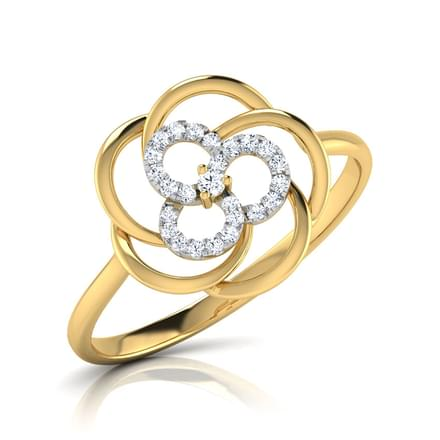 Ava Intertwined Ring