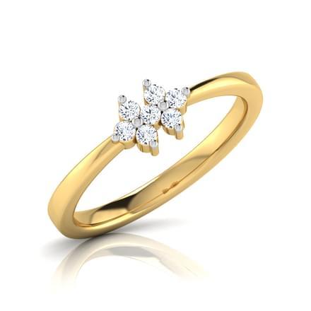 Liz Twin Sparkle  Ring