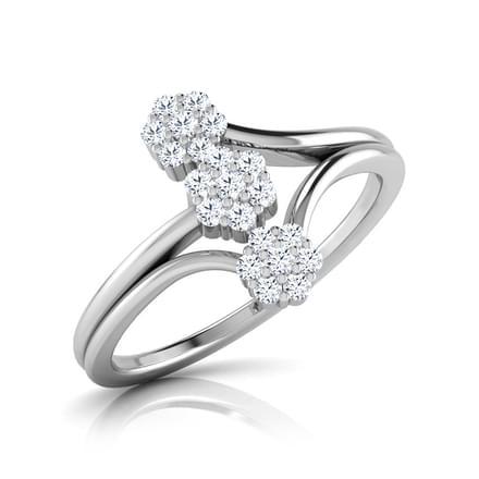 Misha 3 Cluster Ring