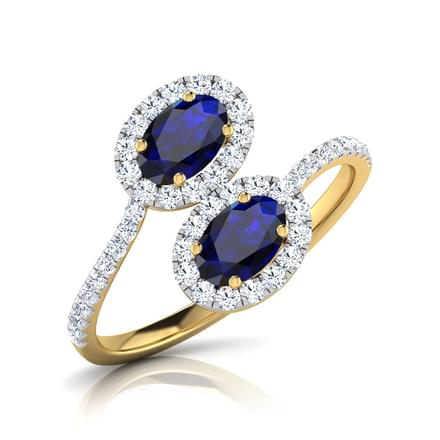 Cyanea Royal Crossover Ring