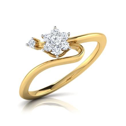 Eve Floral Wave Ring