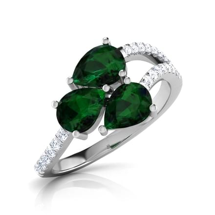 Mint Cluster Ring