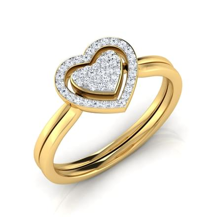 Tyra Heart Ripple 3 in 1 Ring