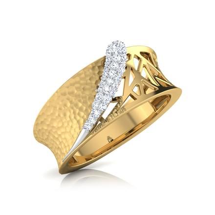 Gina Hammered Ring