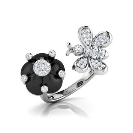 Celia  Black Onyx Ring