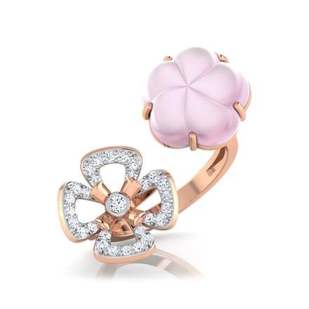 Katy  Rose Quartz  Ring