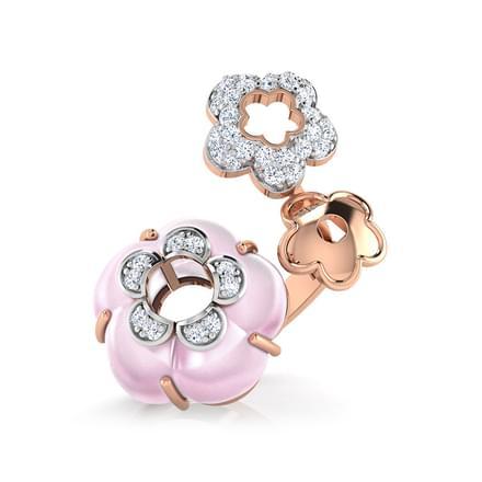 Lona  Rose Quartz Ring