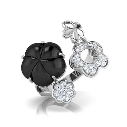 Jazzy  Black Onyx Ring