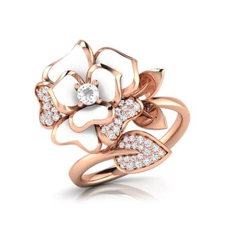 Jane White Rose Ring