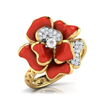 Sia Red Rozo Ring
