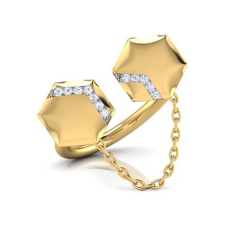 Kiara Stamped Ring