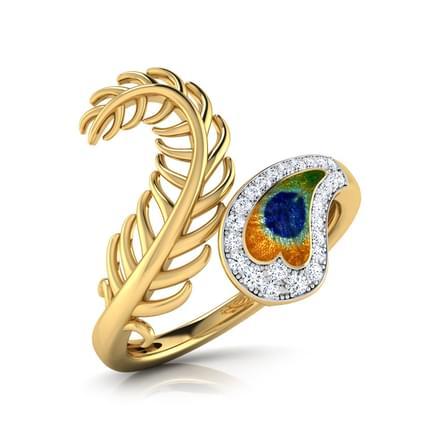 Imperial Peacock Ring Jewellery India Online Caratlane Com