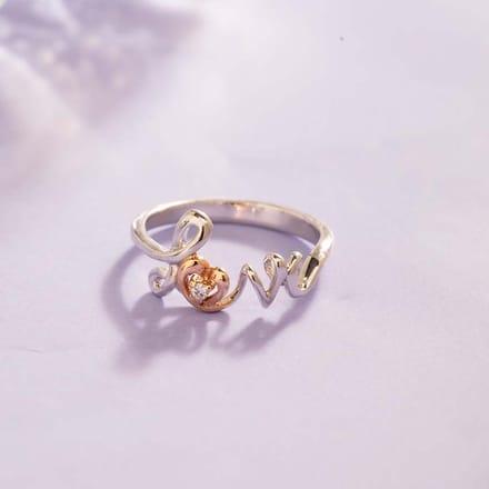 Love Heart Ring Jewellery India Online Caratlane Com