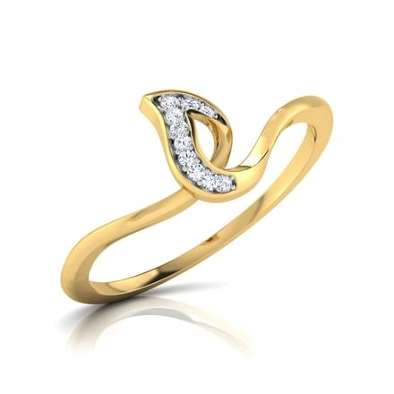 Spear Diamond Ring
