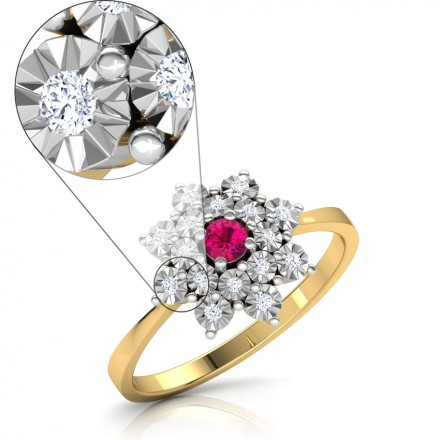 Bloom Miracle Plate Ring