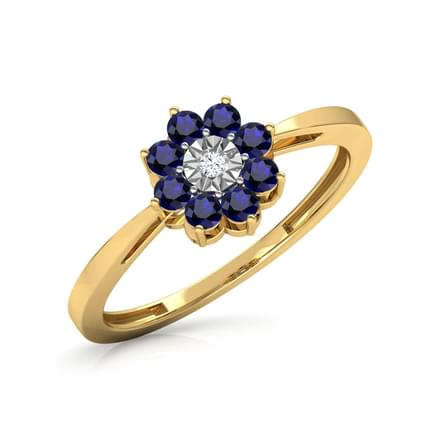 Cluster Miracle Plate Ring