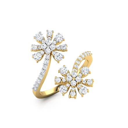 Duo Floweret Ring