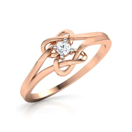 Shining Knot Promise Ring
