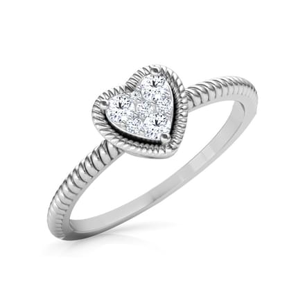 Charming Heart Promise Ring