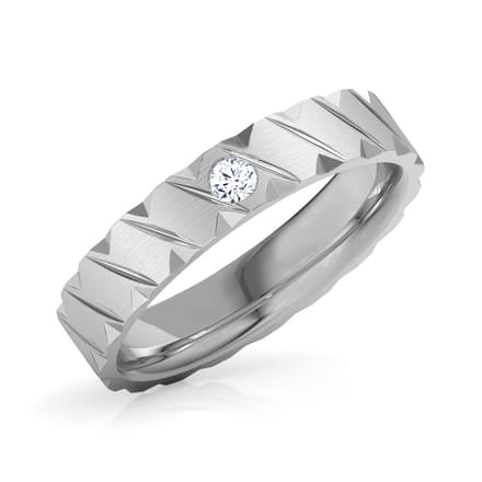 Ezra Platinum Band for Him