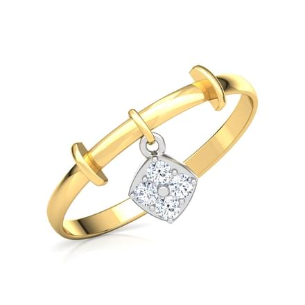 Trendy Quad Dangle Ring