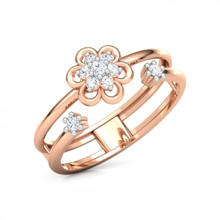 Contemporary Bloom Ring