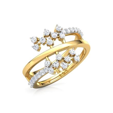 Curl Cluster Ring Jewellery India Online - CaratLane com