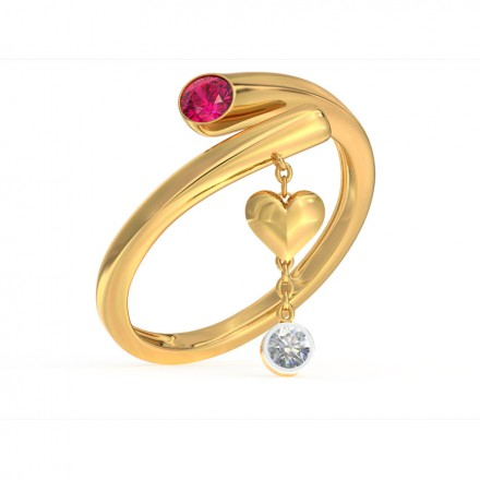 Adore Love Lock Ring