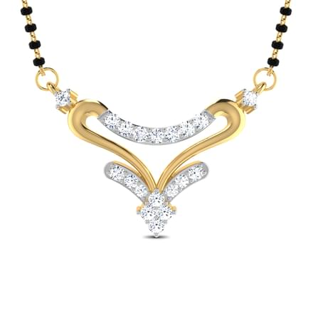 Kamalam Heart-Shaped Mangalsutra
