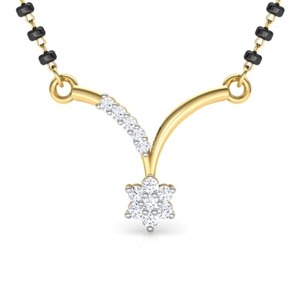 Mahimat V-shaped Mangalsutra