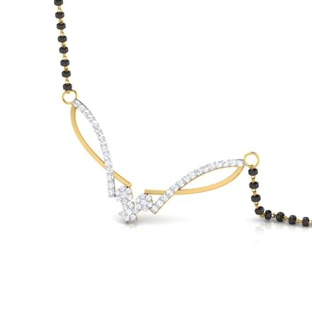 Shaambari Elite Diamond Mangalsutra