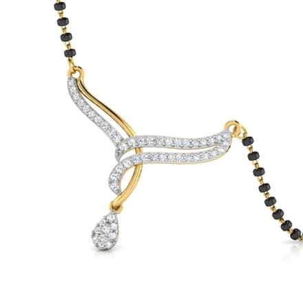 Ischiya V-Shaped Mangalsutra