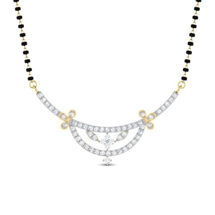Lalaate Crescent Mangalsutra
