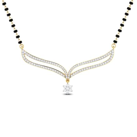 Taranga V-shaped Mangalsutra