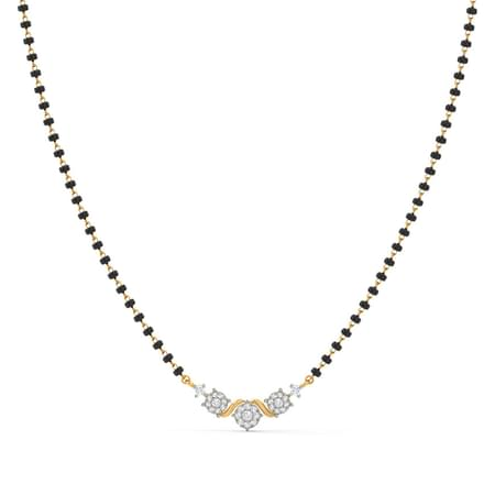 Advika Miracle Plate Diamond Mangalsutra