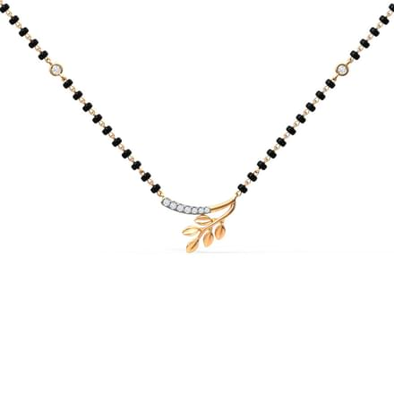 Arched Fern Mangalsutra