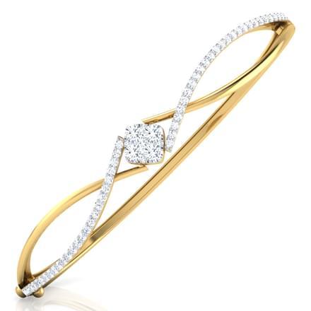 Enigma Crossover Bracelet Jewellery India line CaratLane