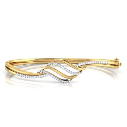 Mia Curved Bracelet