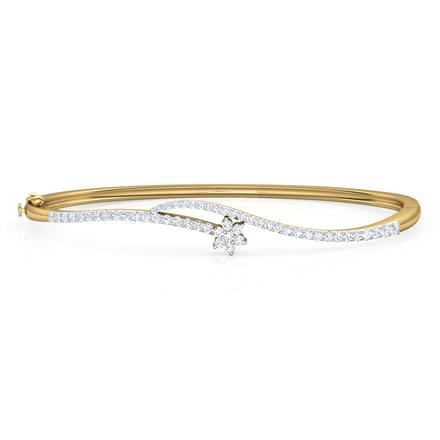 Mansi Twist Bracelet Jewellery India line CaratLane
