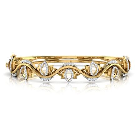 Lotus Wave Bracelet
