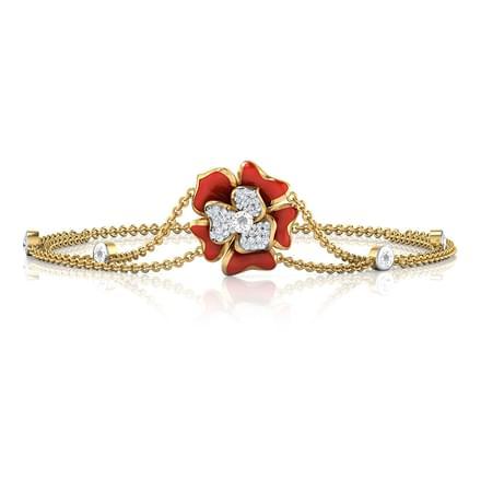 Isla Red Blossom Bracelet