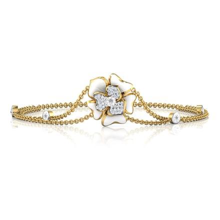 Isla White Blossom Bracelet