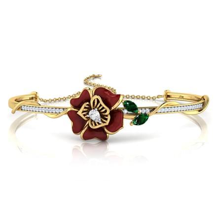Rhoswen Maroon Planda Bracelet