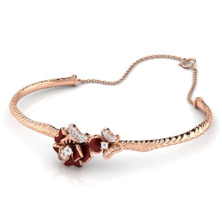 Rhoda Maroon Anthos Bracelet