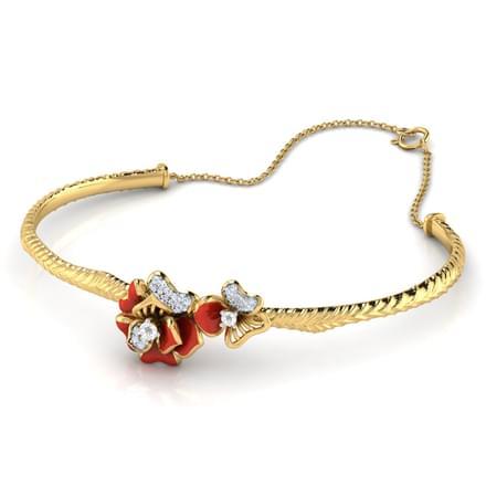 Rhoda Red Anthos Bracelet