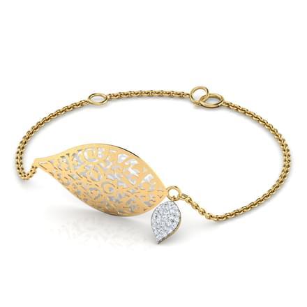 Zoe Leaf Bracelet