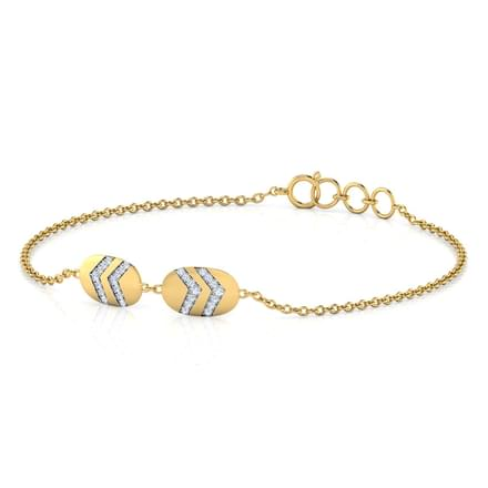 Genna Stamped Bracelet