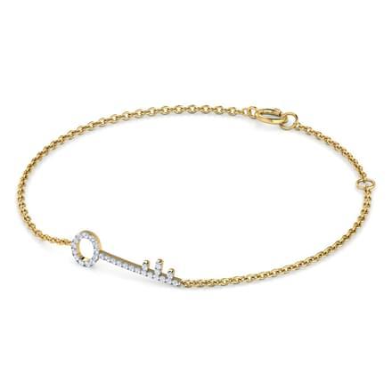 Ines Key Bracelet