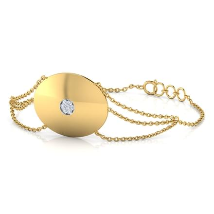 Sana Stamped Bracelet