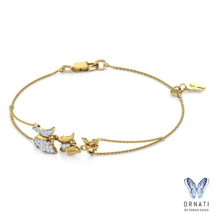 Butterfly Swarm Bracelet Jewellery India line CaratLane